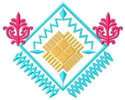 Southwest Diamond embroidery design