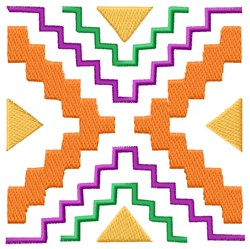 Southwest  Block embroidery design