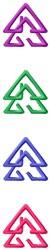 Border Triangles embroidery design