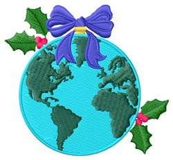 Earth Ornament embroidery design