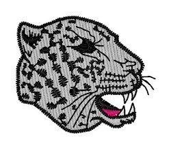 Leopard Head embroidery design