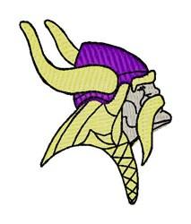 Mascot Viking embroidery design