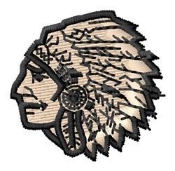 Chief Head embroidery design