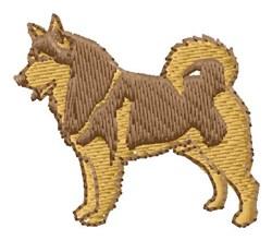 Malamute embroidery design