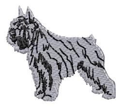 Affenpinscher embroidery design