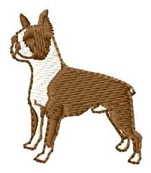 Bosten Terrior embroidery design