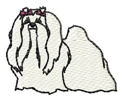 Maltese embroidery design