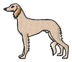 Hound embroidery design