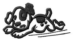 Running Dog embroidery design