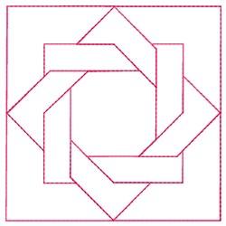 Interlock Quilt embroidery design