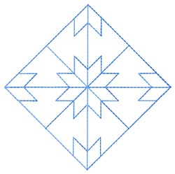 Star Quilt embroidery design