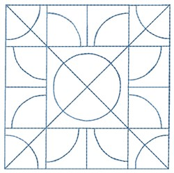 Circle Quilt embroidery design