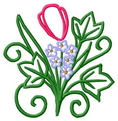 Tulip Bouquet embroidery design