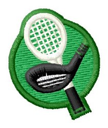 Golf & Tennis embroidery design