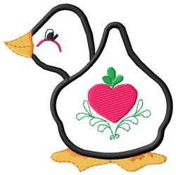 Cute Goose embroidery design