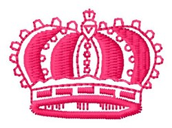 Jeweled Crown embroidery design