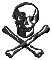 Skull & Bones embroidery design