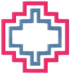 Geometric Pattern embroidery design