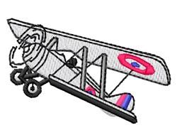 Vintage Plane embroidery design