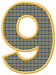 Applique 9 embroidery design