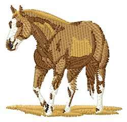Western Horse embroidery design