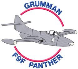 Grumman Panther embroidery design