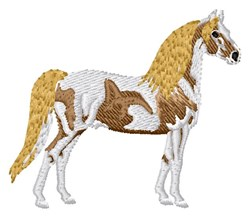 Horse West embroidery design