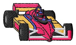 Sport Racecar embroidery design