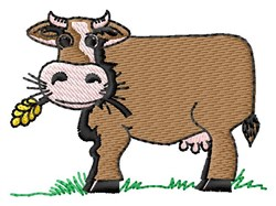 Cow Animal embroidery design