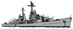 Navy Ship embroidery design