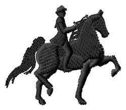 Tennessee Walker embroidery design