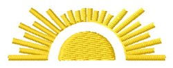 Sunshine Scene embroidery design