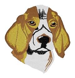 Beagle embroidery design