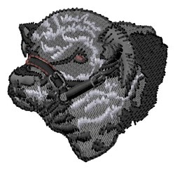 Beef Head embroidery design