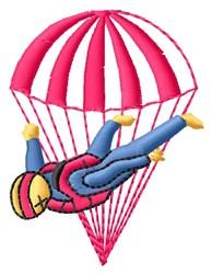 Parachute embroidery design