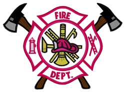 Fire Dept. embroidery design