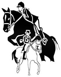 Equestrian Riders embroidery design