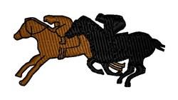 Jockeys embroidery design