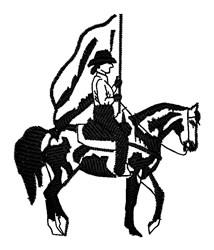 Flag Bearer embroidery design
