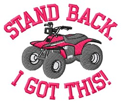 Ride With Pride embroidery design