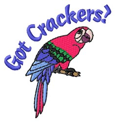 Cracker Parrot embroidery design