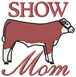 Moms Show embroidery design