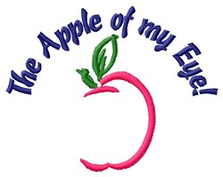 Apple Of My Eye embroidery design
