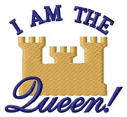 Castle Queen embroidery design