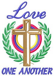 Love Of Cross embroidery design
