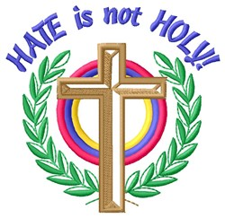 Unholy Hatred embroidery design
