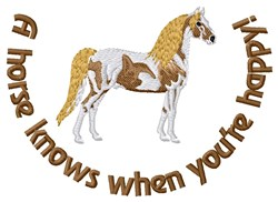 True Horse Friend embroidery design