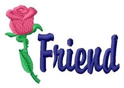 Rose Friend embroidery design