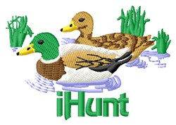 Bird Hunt embroidery design