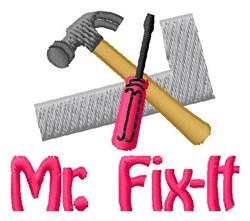 Fix-It Tools embroidery design